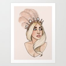 ARTPOP Princess Art Print