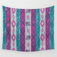 chic Wall Tapestries featuring BOHO Chic by rskinner1122