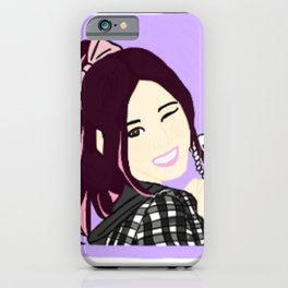 Knock Knock! Sana Purple iPhone Case