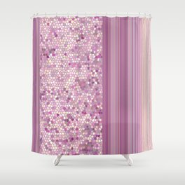 GRAPHIC POP - pastell Radiant Ochid Shower Curtain
