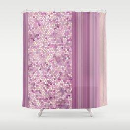 GRAPHIC POP - pastell Radiant Ochid Shower Curtain
