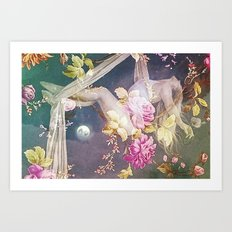 Gravity of Love Art Print