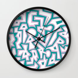 Spring Chaos Wall Clock
