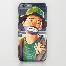 (Very) Sad Clown iPhone Case