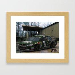 #DuckDynasty #NASCAR Design by @ernhrtfan Framed Art Print