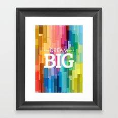 dream_big Framed Art Print