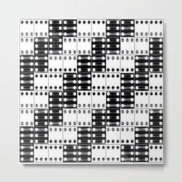 light dominos Metal Print
