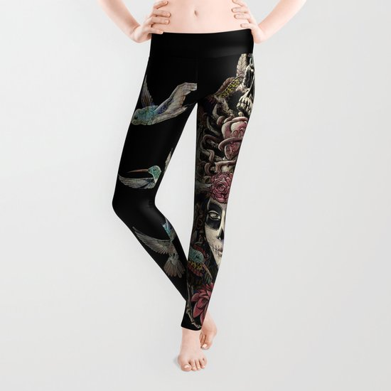 Day of the Dead (Ancient Guardians) Leggings