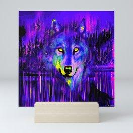WOLF Mini Art Print
