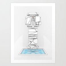 BIOLITH Art Print