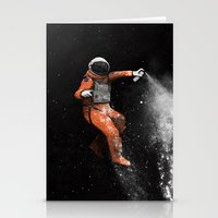 nasa Stationery Cards featuring Astronaut by Florent Bodart / Speakerine
