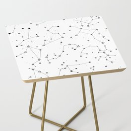 stars in the zodiac constellations Side Table