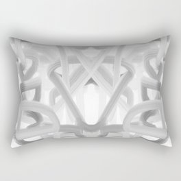 art, only two colors, circles, abstract, young design, forever 16, crazy design Rectangular Pillow
