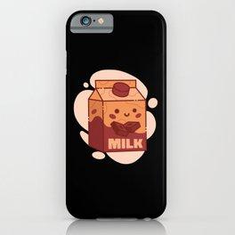 Kawaii Chocolate Milk iPhone Case