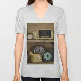 Clocks Unisex V-Neck