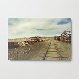 Forgotten trains Metal Print
