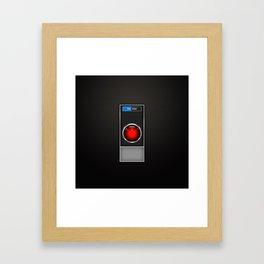 stanley kubrick, hal 9000 Framed Art Print