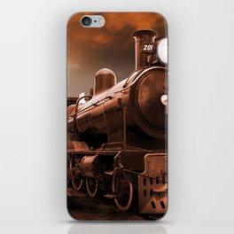 The Steam Trains Final Trip iPhone Skin