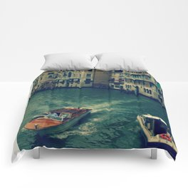 Venice, Grand Canal 3 Comforters