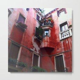 Red Villa, Rome Metal Print