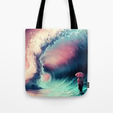 Cross over together Tote Bag