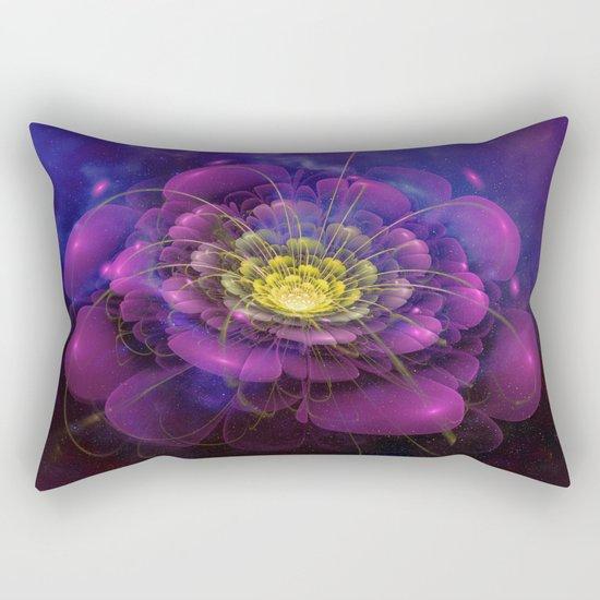 A Beautiful Fractal Flower 3 Rectangular Pillow