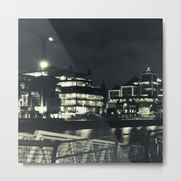 Dublin by night Metal Print