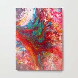 Abstract Artwork Colourful #13 Metal Print