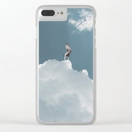King of the Skies Clear iPhone Case