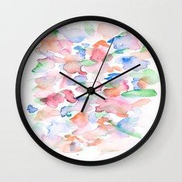 150725 My Happy Bubbles 27 Wall Clock