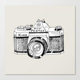 Pentax K1000 Canvas Print