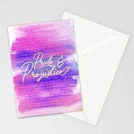 Pride & Prejudice Vibrant Quotes Stationery Cards