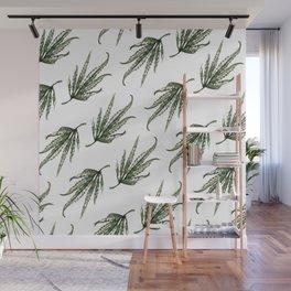 Hempsley Watercolor Leaf pattern Wall Mural