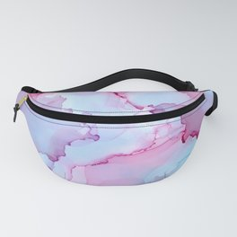 Alcohol Ink - Dreamy Clouds 2 Fanny Pack