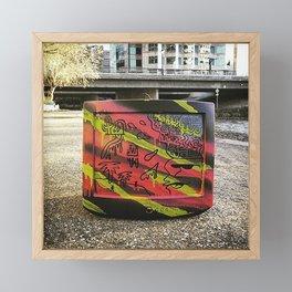 Media Cover Up Framed Mini Art Print