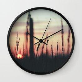 Sunset Calling Wall Clock