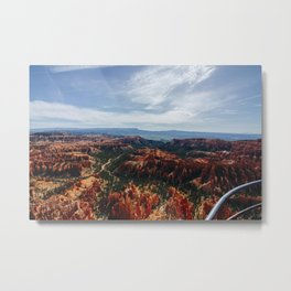 Inspiration Point, Bryce Canyon National Park Metal Print