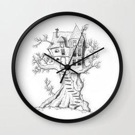 Treehouse Wall Clock