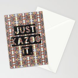 JUST KAZOO IT. Stationery Cards