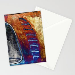 Rusted Classic Minivan Stationery Cards