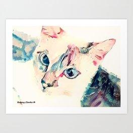 Monkey Paws Art Print