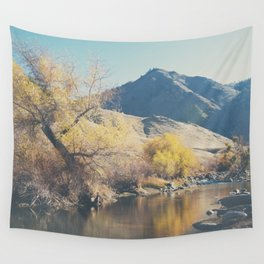 down by the river ... Wall Tapestry