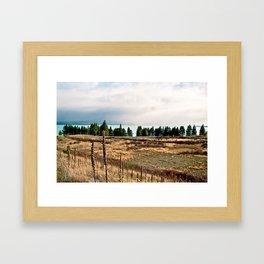 Lake Pukaki (3) Framed Art Print
