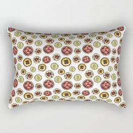 Fruit Tarts Rectangular Pillow