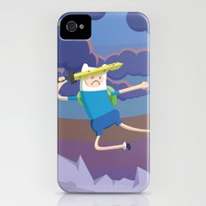 Finn the Human is gonna KICK YOUR BUTT! iPhone (4, 4s) Slim Case