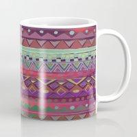 ethnic Mugs featuring Ethnic Bracelet by Nika
