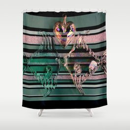 Just The Same As You Are, Love Shower Curtain