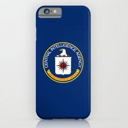 CIA Flag iPhone Case