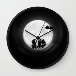 Fullpipe Wolves Wall Clock