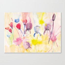 Wildblumen / Wild flowers Canvas Print